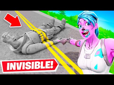 Going INVISIBLE to Cheat in Hide & Seek… (Fortnite)