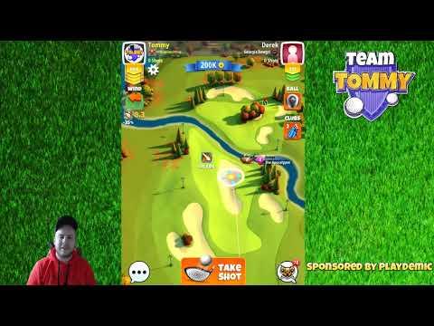 Golf Clash tips, Hole 1 - Par 4 - EXPERT - BREAKDOWN *Powerslice - Skyline Cup Tournament!