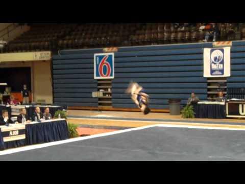 Alex Varga Floor at Big 10 Event Finals 2011
