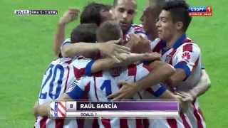 Реал Мадрид  -  Атлетико Мадрид. Суперкубок Испании. Первый матч 1:1 (голы)(, 2014-08-20T15:18:38.000Z)