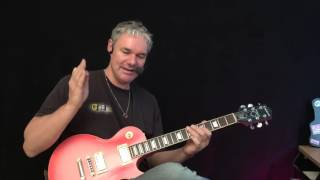 Hard Hard Rock Riff - Guitar Lesson ( easy )