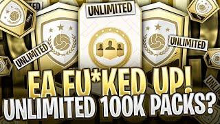 UNLIMITED 100K PACKS?