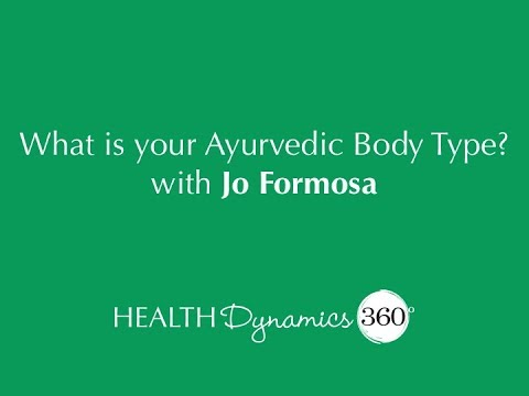What is your Ayurvedic Body Type?