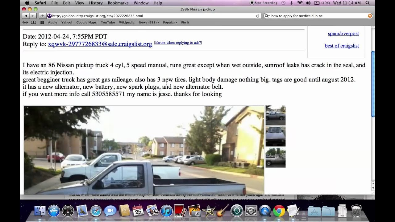 Craigslist Gold Country - Used Cars and Trucks and How to ...