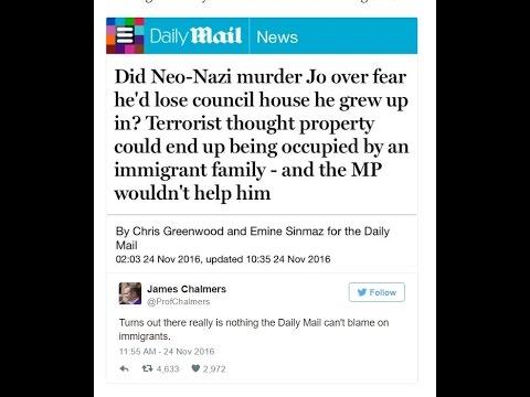 James O'Brien vs the Daily Mail's hypocrisy over the Jo Cox murder