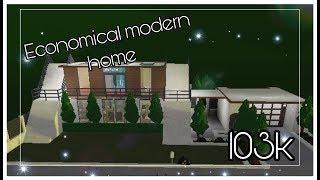 Economical Modern Home (Roblox) (Bloxburg)