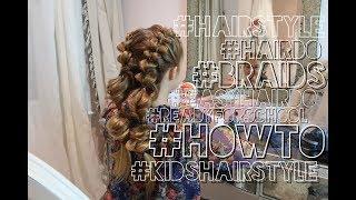 видео Простые решения на длинные волосы: прически на каждый день