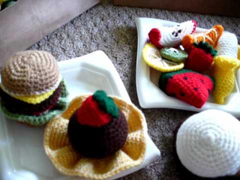 Amigurumi Food : Amigurumi food no audio youtube