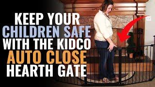 Keep Your Children Safe With The Kidco Auto Close Hearth Gate