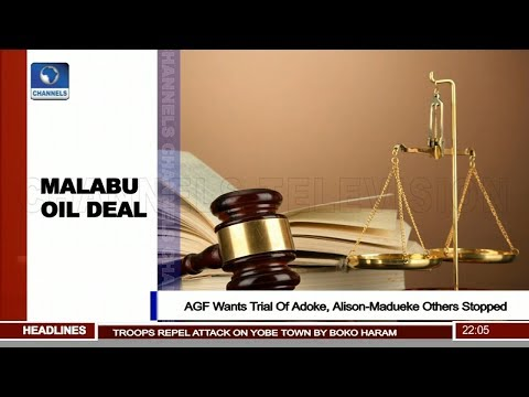AGF Wants Trial Of Adegoke, Alison-Madueke Others Stopped Pt.1 |News@10| 19/02/18