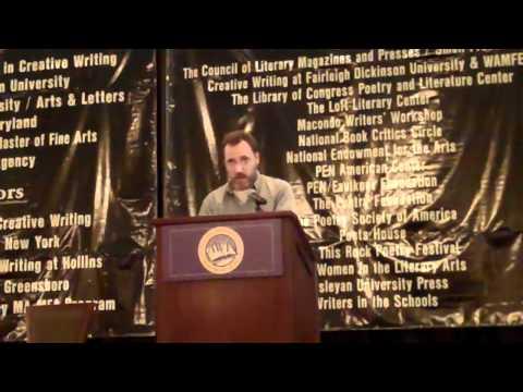 Maurice Manning Reads at AWP 2011