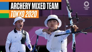🏹 Archery Mixed Team Gold Medal   Tokyo Replays