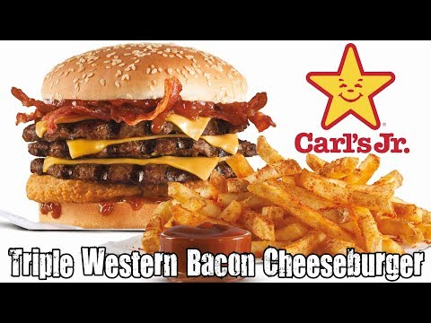 Jr Triple Western Bacon Cheeseburger