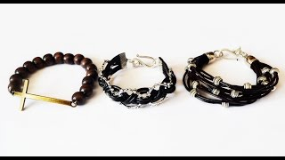 Мужские браслеты своими руками мастер класс men's bracelet diy