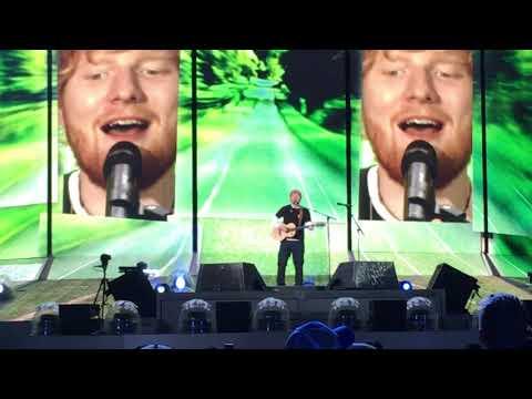Castle on the Hill - Ed Sheeran - Arrowhead Stadium -10-13-18