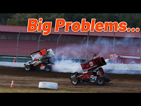 Our Night Goes Up in Smoke...(Grays Harbor Raceway) thumbnail