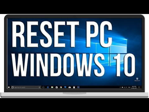 How to Reset Windows 10 Without Losing Files #119