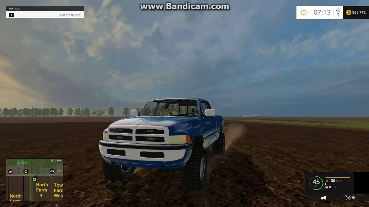 farming simulator 2015 mod spotlight  2nd gen dodge ram