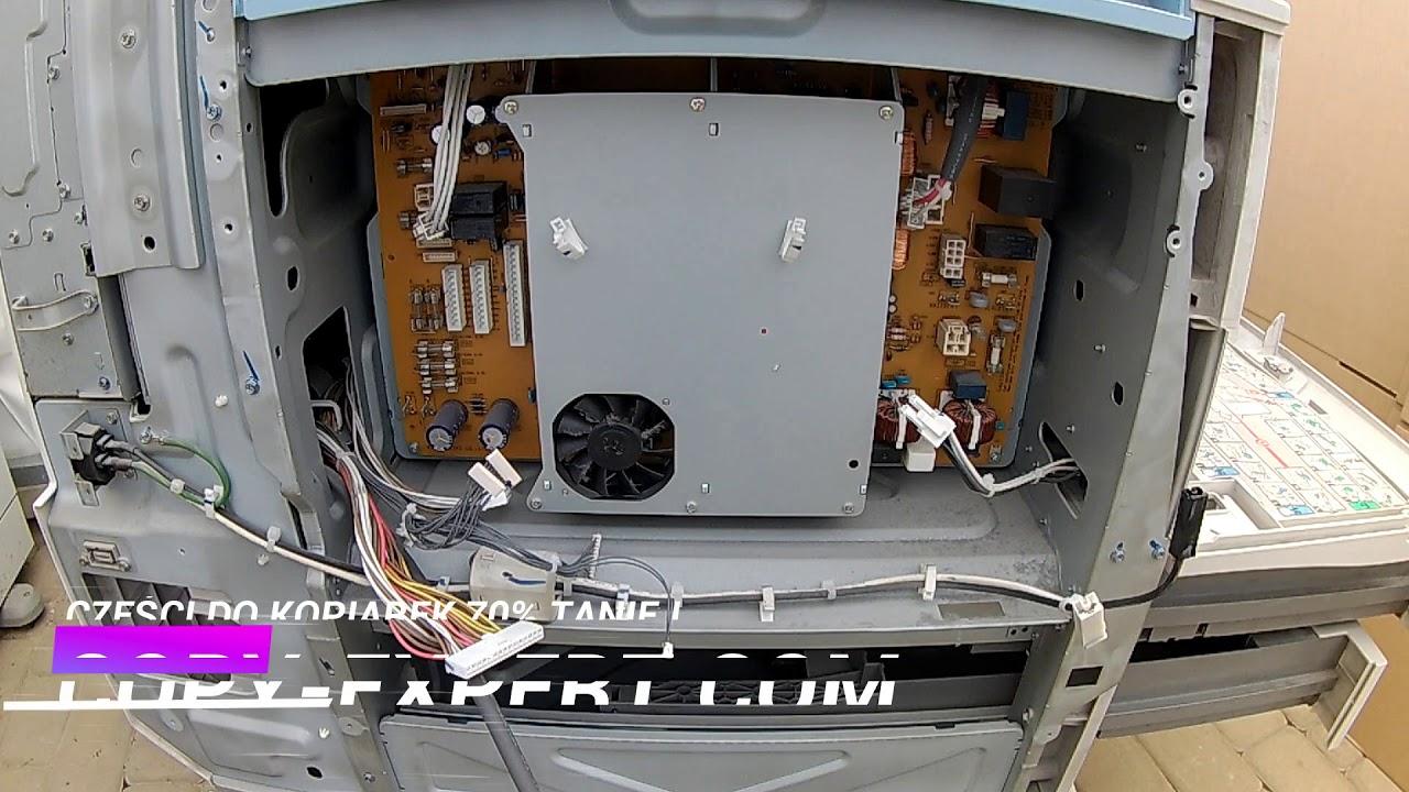Power Suplly Unit Ricoh MP4000 MP4001 MP5000 MP5001 Tutorial for Servive  error sc543 sc553