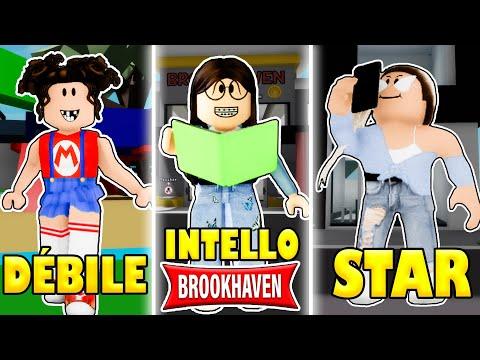 DÉBILE VS INTELLO VS STAR SUR BROOK HAVEN ! | ROBLOX BROOKHAVEN RP