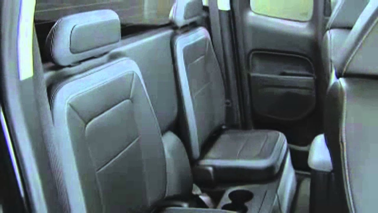 2015 Country Chevy Colorado Rear Seat Configuration For