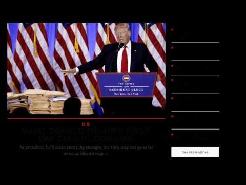 US NEWS TODAY SUMMARY   (WEDNESDAY 01/18/2017 ) SCREENSHOT NEWSPAPERS