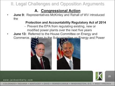 Jackson Kelly PLLC Webinar - EPA's Proposed Rule Clean Power Plan