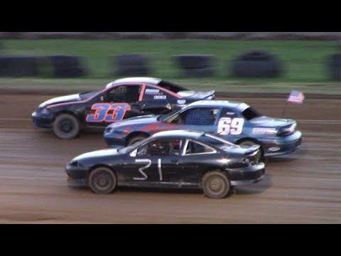 Young Guns Kids Mini Stock Heat | McKean County Raceway | 6-20-17