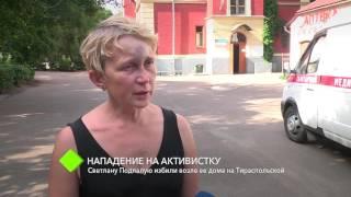 Нападение на активистку: Светлану Подпалую избили возле ее дома
