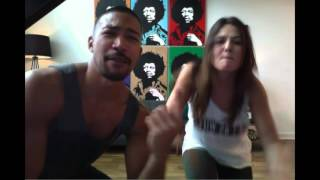 Danielle Campbell & Charles Michael Davis Lip Sync Battle for Build On