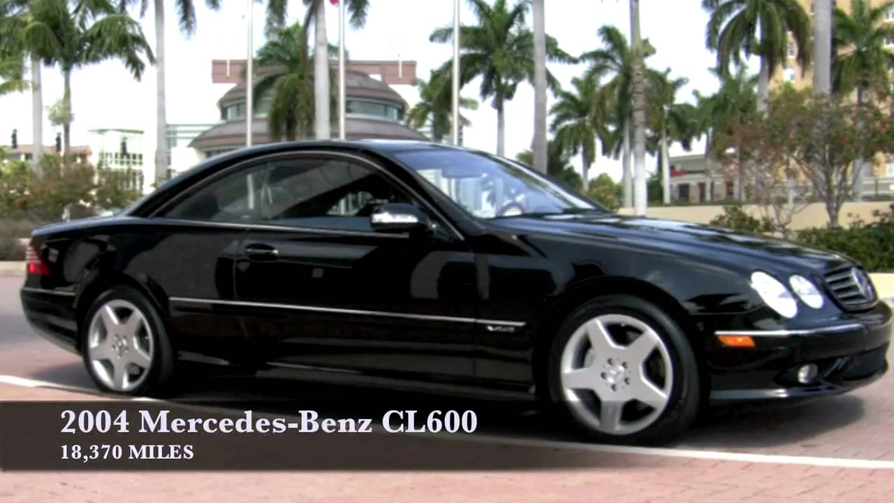 2004 mercedes benz cl600 youtube for Mercedes benz 600 amg