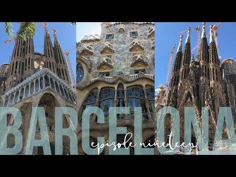 2017 Travel Vlog  Barcelona & Malaga  Episode 19