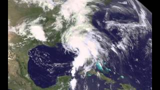 Satellite Shows Landfall and Movement of Tropical Storm Andrea