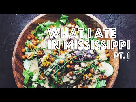 WHAT I ATE IN MISSISSIPPI (VEGAN) PT. 1 (FEATURING MISSISSIPPI VEGAN)