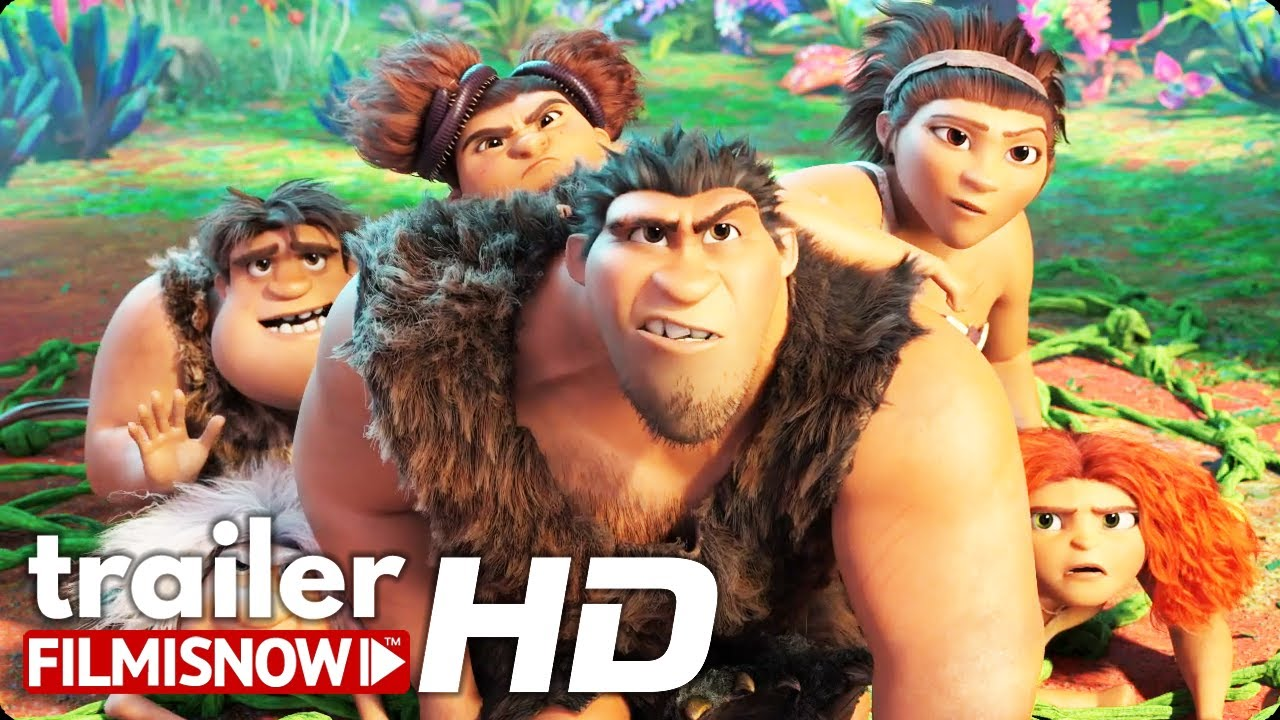 THE CROODS: A NEW AGE Trailer (2020) Ryan Reynolds Animated Sequel Movie