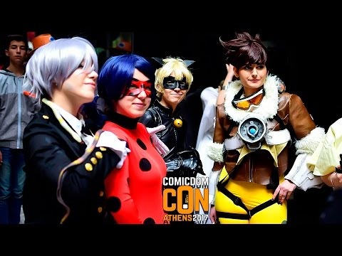 [Comicdom Con Athens] Cosplays 2017 (1080p / 60fps / Stereo / Athens / Greece / 07-09.04.2017)