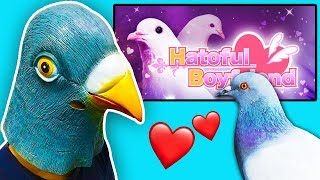 Jack plays a PIGEON DATING SIMULATOR ??
