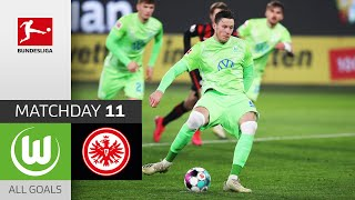 #wobsge | highlights from matchday 11!► sub now: https://redirect.bundesliga.com/_bwcs watch all goals of vfl wolfsburg vs. eintracht frankfurt matchday...