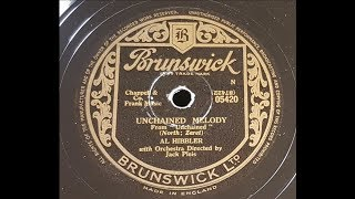 Al Hibbler 'Unchained Melody' 1955 78 rpm