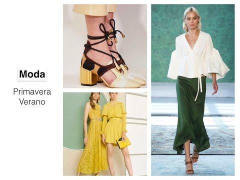 Tendencias moda primavera verano youtube for Tendencias moda verano 2017