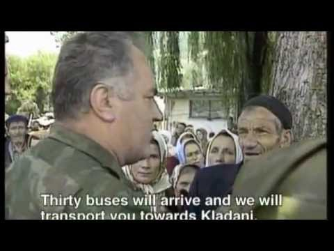 Ratko Mladic - Evacuation Of The Srebrenica Refugees - July 12,1995