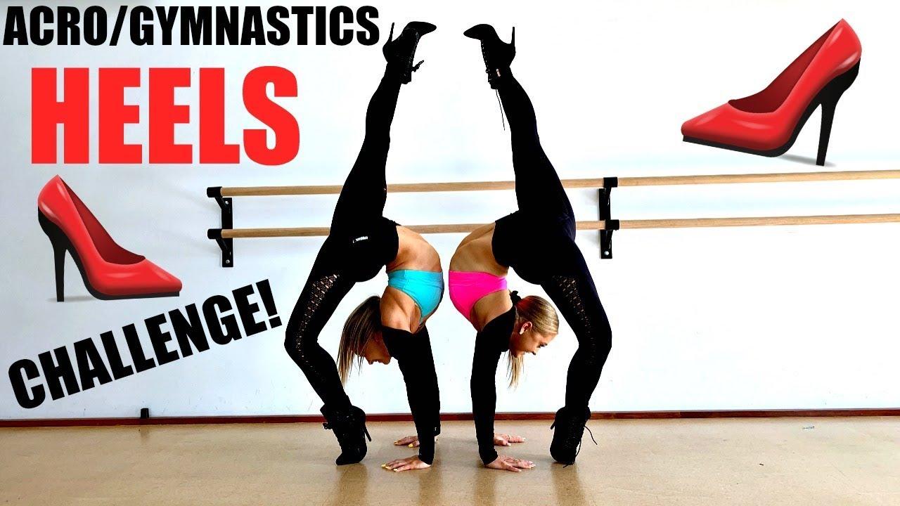 Download Acro/gymnastics HEELS challenge!!!