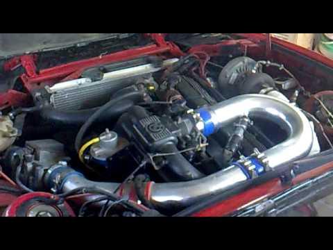 BMW E30 M30 3 5L Turbo Engine mp4