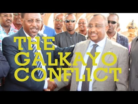 Peace deal in Galkayo between Puntland and Galmudug States of Somalia