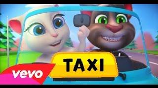 gato Tom canta _el taxi