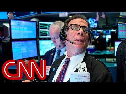 Dow plummets after China retaliates with higher tariffs