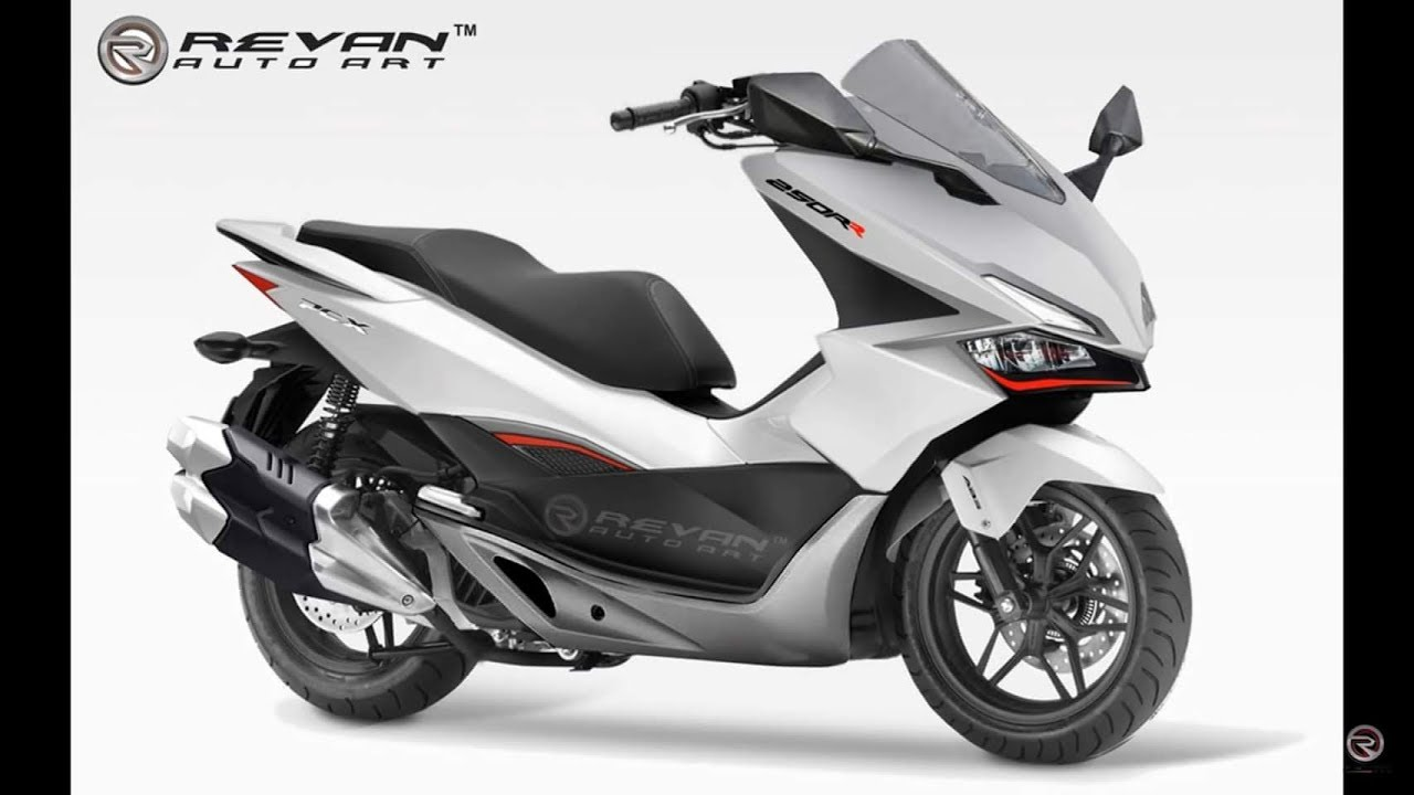 new 2019 honda pcx 250cc big scooter pcx 250r youtube. Black Bedroom Furniture Sets. Home Design Ideas