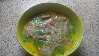 Сырный суп по-французски с курицей|cheese soup in French Chicken