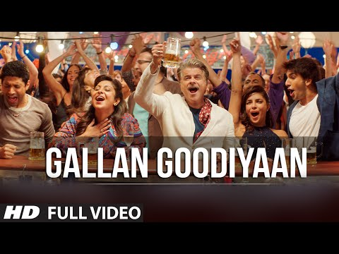 'gallan Goodiyaan' Full Video Song  Dil Dhadakne Do  T-series