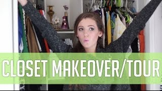 Wardrobe Makeover And Mini Closet Tour | Shop Style Conquer